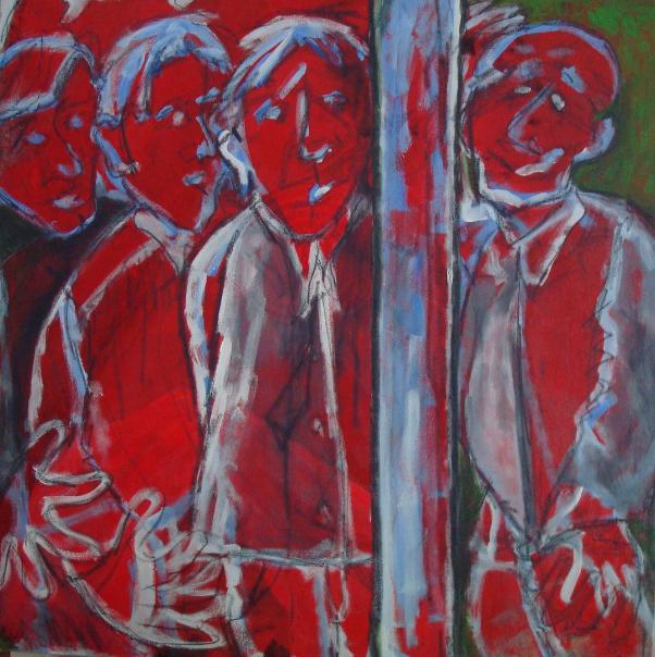 Acryl auf Leinwand 100 cm x 1cm
